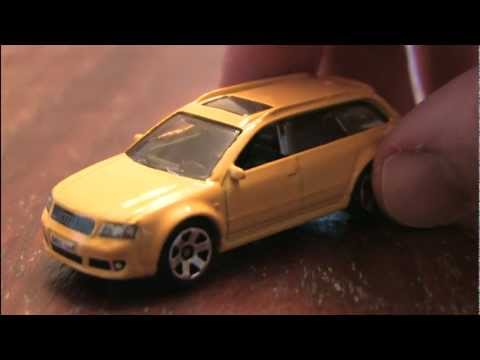CGR Garage - AUDI RS6 AVANT Matchbox car review