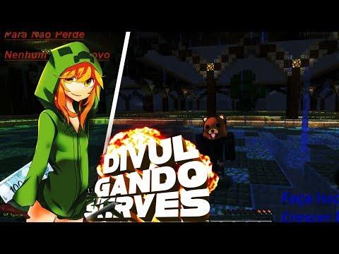 Minecraft:Divulgando Server Dlç De Mine :)