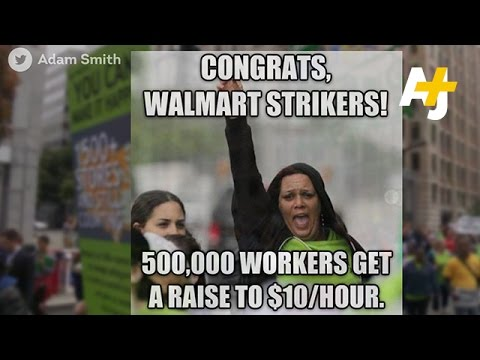 Walmart Raises Wages For Half A Million Workers