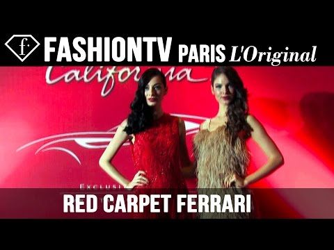 Ferrari Red Carpet: The Exclusive Preview Of Californiat | Fashiontv video