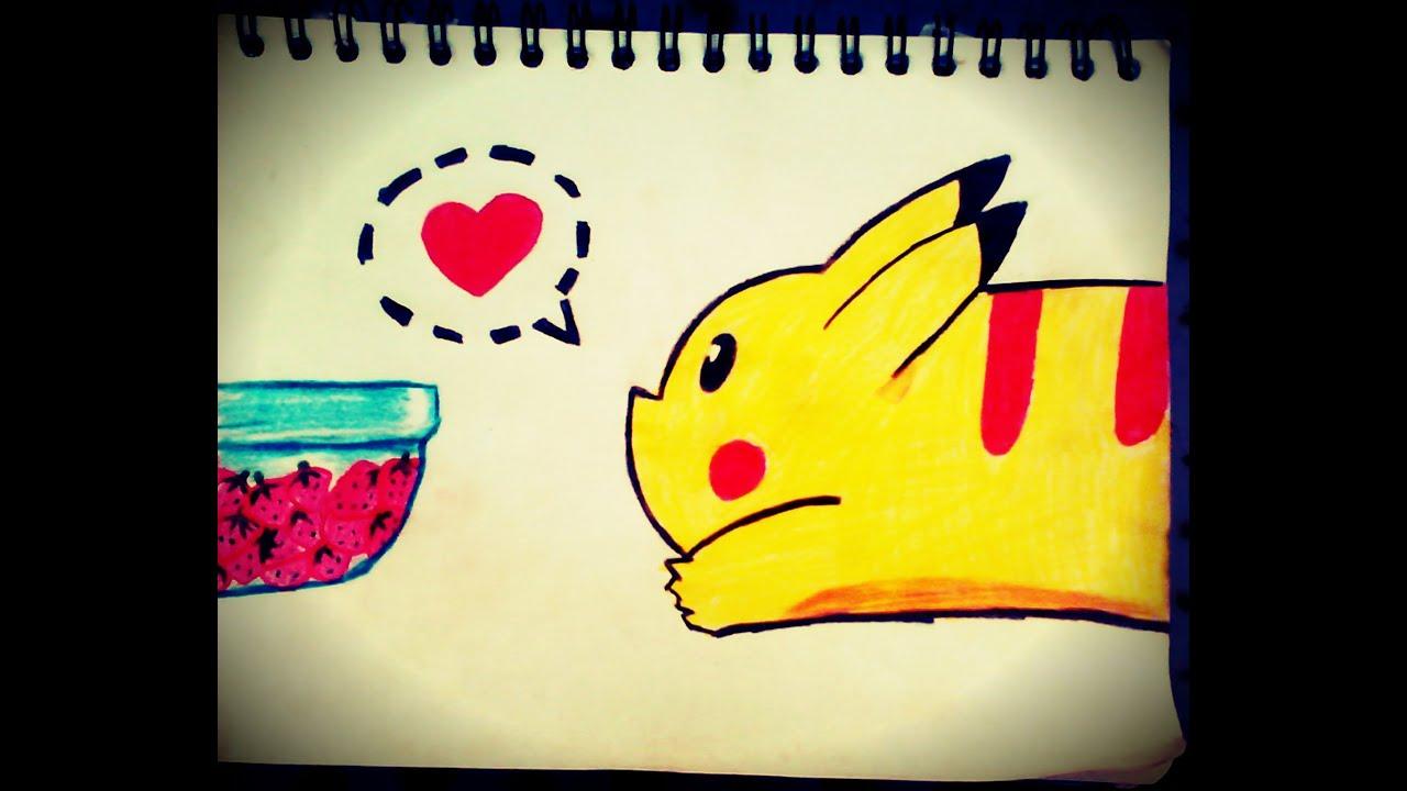1887 x 1536 jpeg 194kB, Como dibujar fácil y rápido (un pikachu ...