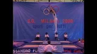 Campionati Assoluti Trampolino Elastico -  Milano 7 Maggio 2006