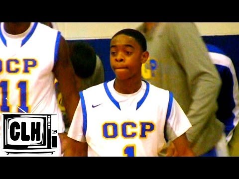 Damon Harge DROPS DIMES and hits NBA THREES - 8th Grade Season Mix Orlando Christian Prep