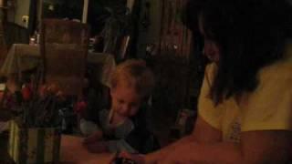 MVI 2509 Joey coloring with Grandma