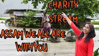 🔴PUBG MOBILE || WE ALL ARE WITH YOU ASSAM CHARITY STREAM ||