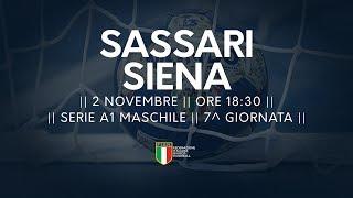 Serie A1M [7^]: Sassari - Siena 30-32
