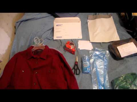 How To ship Clothes and the supplies I use!  Make $$ Selling Clothes on ebay~