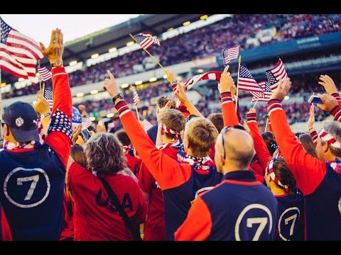 Parade of Nations - USA (Gothia Cup)