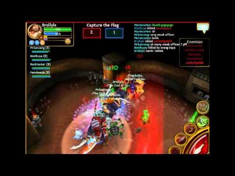 Pvp Arcane Legends The God Army VS Elite Dummies