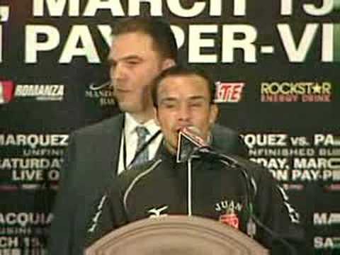 Habla Márquez tras su derrota ante Pacquiao