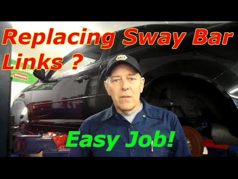 How to replace front sway bar links on a 2006 Chevy Cobalt