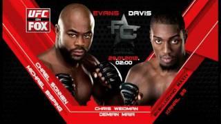 UFC on FOX 2: Evans vs Davis