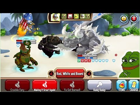 Monster Legends - Pirotecs level 120 combat review