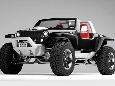 #1040. Jeep hurricane 2005 (Prototype Car)
