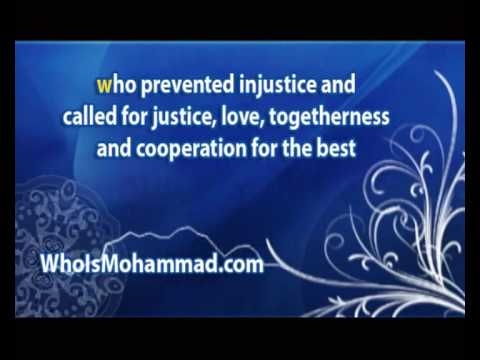 Who is Muhammad peace be upon him(America and England)
