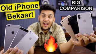 Don't Buy Old iPhones - iPhone 6 & 6s in 2018? | Big iPhone Comparison!