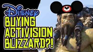 Will Disney Buy Activision Blizzard?!