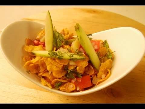 Healthy Cornflakes Bhel