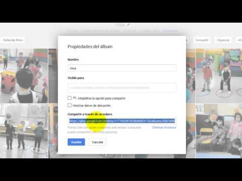 Compartir álbumes de Picasa vía Gmail.