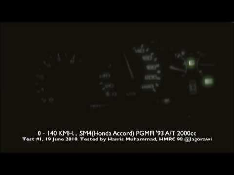 0-140 km/hSM4 Honda Accord PGMFI