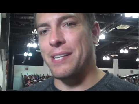 David Lee of the Golden St. Warriors shares who he wants to team up with at the NBA Summer League