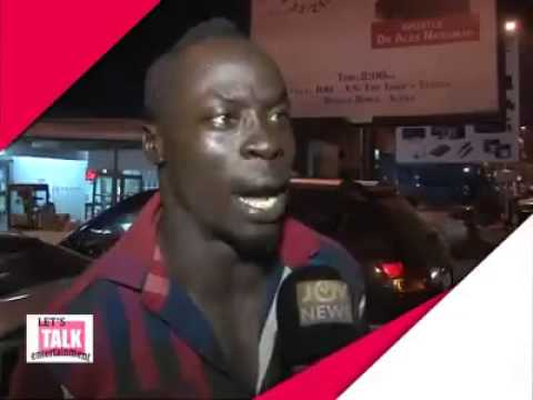 NEW YEAR MESSAGE FROM A REAL G!!!!!! LOL- JOY NEWS GHANA