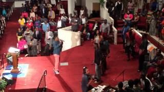 Jonathan Nelson sings Strong Finish Strong Faith live in Norfolk VA