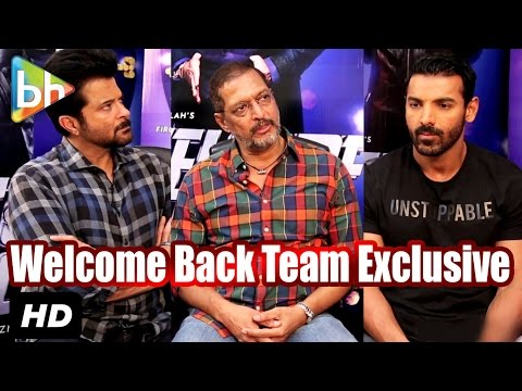 Exclusive: Anil Kapoor | John Abraham | Nana Patekar's Full Interview On 'Welcome Back' | Rapid Fire