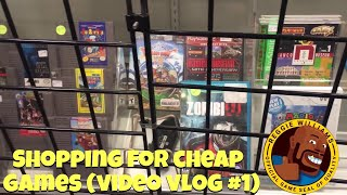 Shopping for cheap games (video vlog #1)