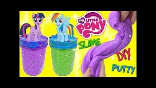 D.I.Y. My Little Pony MLP Twilight Sparkle & Rainbow Dash Do It Yourself Slime