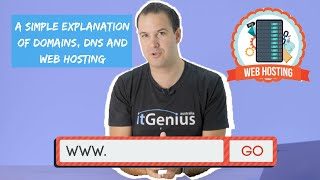 A Simple Explanation of Domains, DNS and Web Hosting