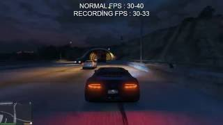 GTA V Performance Test Lenovo G50-80 Intel Core i5 AMD Radeon R5 M330