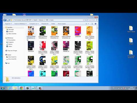 como descargar pack de botines 2014 para pes 6