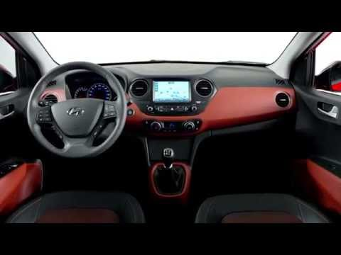 The New Hyundai I10 Interior Design Trailer