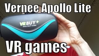 Playing VR games on Vernee Apollo Lite VR headset (How to set up, play, download)Cardboard