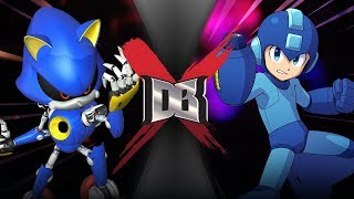 Metal Sonic VS Mega Man (SEGA VS Capcom) | DBX
