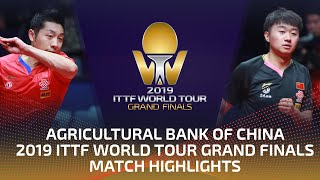 Xu Xin vs Zhao Zihao | 2019 ITTF World Tour Grand Finals Highlights (R16)