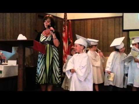 Rex graduates Sonshine School!