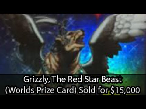 Star Beast Yugioh Grizzly The Red Star Beast