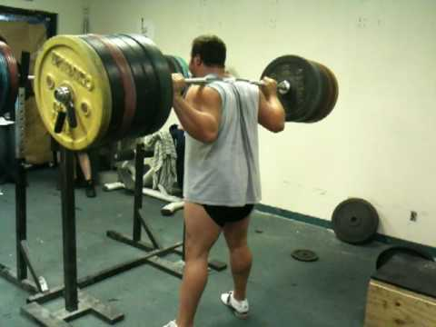 350 kg / 772 pound RAW No No No No SQUAT