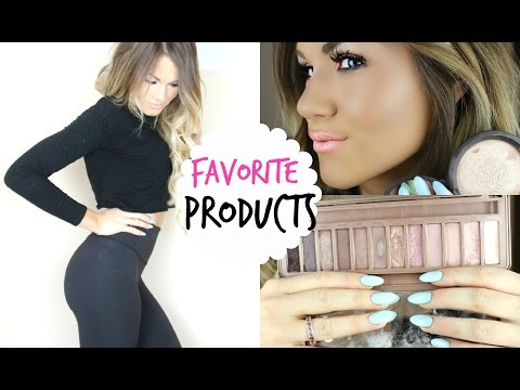 Favorite Clothing, Makeup, and Beauty Products