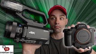 Sony NX80 vs Sony A7III | An ACTUAL Video Camera vs YouTube Camera!