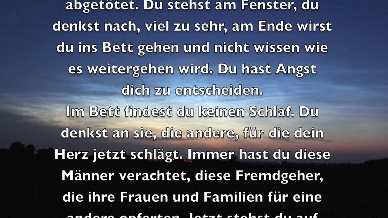 Verbotene Gefühle - © Bernd Töpfer (Erzählung) - YouTube