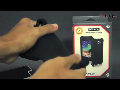 Ballistic® SG Series Case for Samsung Galaxy Note Review in HD