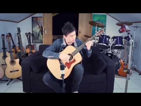 Dragon Ball Gt Ending Fingerstyle By Guitargamer (fabio Lima) video