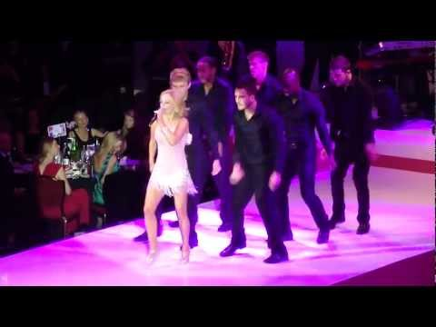 Geri Halliwell - It's Raining Men (Live @ Breast Cancer Show 2012) HD