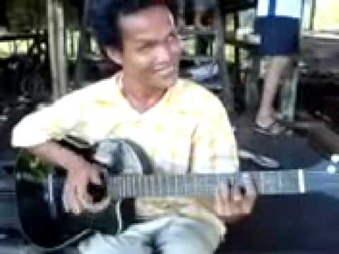 orang buta menyanyi main gitar suara sedap merdu blind man play guitar