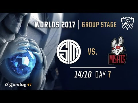 TSM vs Misfits - World Championship 2017 - Group Stage - Day 7 - League of Legends