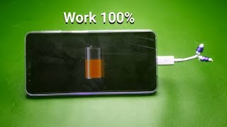 Free charging mobile - at home 2019
