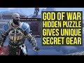 God Of War Tips   Secret Puzzle Unlocks UNIQUE GEAR (God Of War Best Gear   God Of War 4 Best Gear)